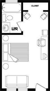 Motel Room Floor Plans galleryhipcom The Hippest